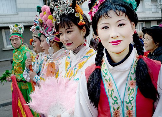 rencontre femme chinoise france