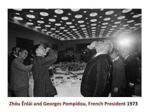 Zhou en Lai Pompidou